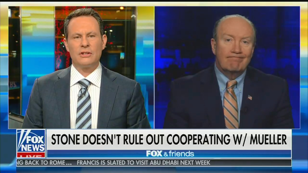 Fox's Andy McCarthy claims Roger Stone indictment should actually rule out Trump-Russia collusion