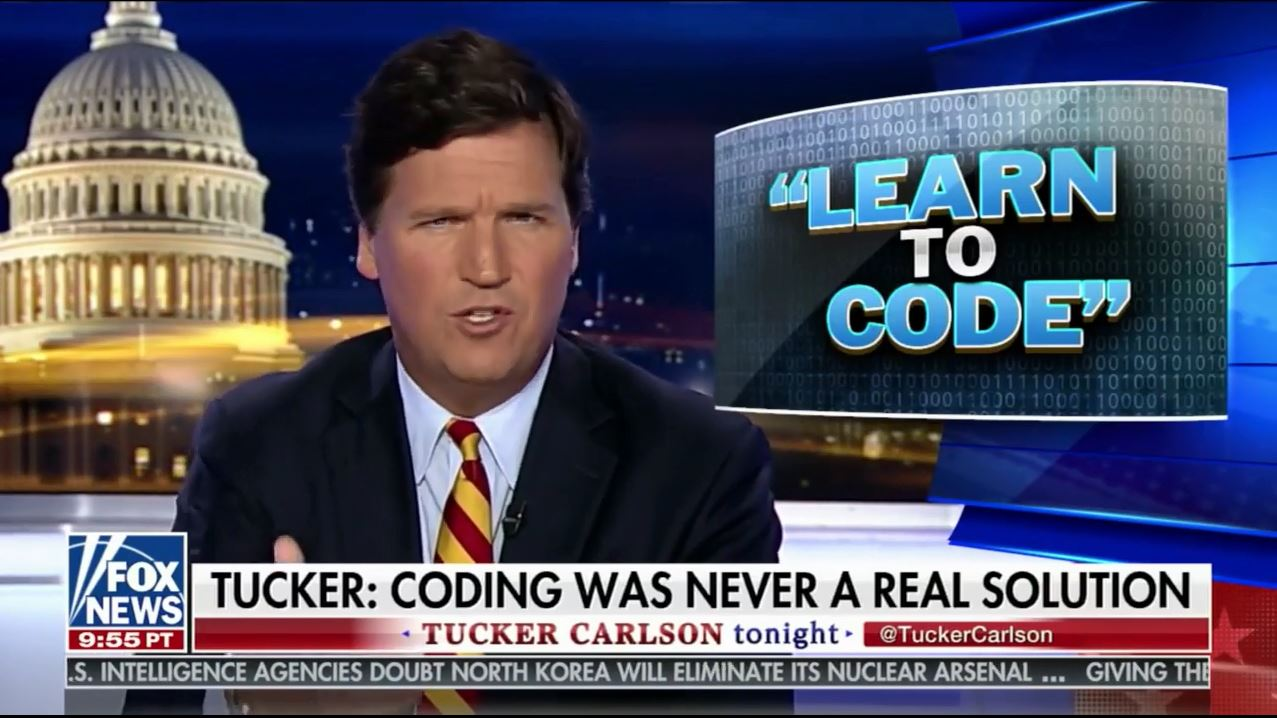 How A Myth About Journalists Telling Miners To Learn To Code