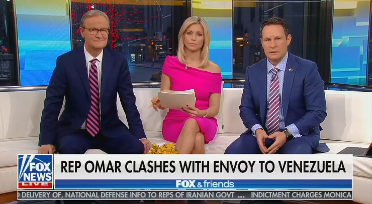 """Fox & Friends hosts defend record of Trump's Venezuela envoy in Latin America: """"You had to do some extreme work"""""""