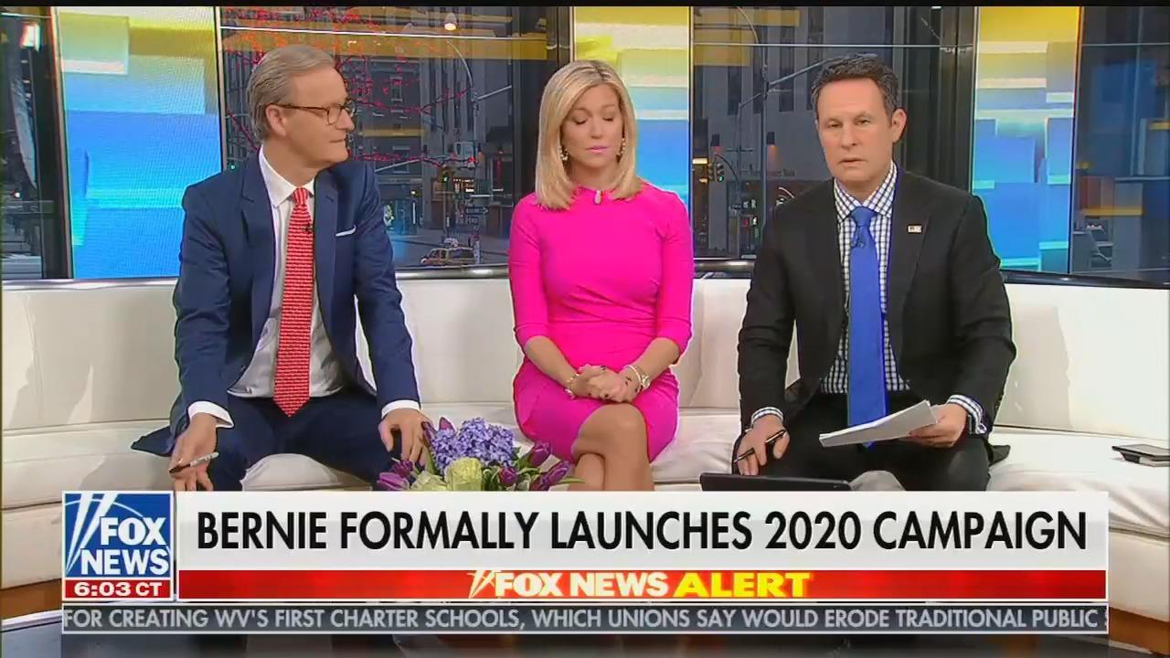 Brian Kilmeade reacts to Bernie Sanders' 2020 announcement: The US could become Venezuela