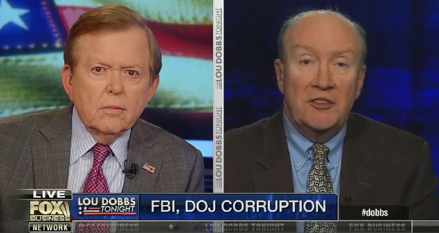 Lou Dobbs promises to call Trump and tell him to release sealed FBI and DOJ documents