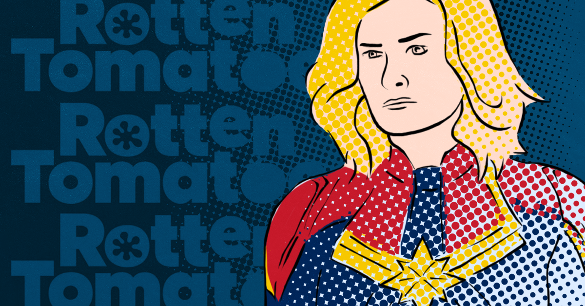 Right-wing trolls attack Brie Larson and target Captain Marvel with negative reviews on Rotten Tomatoes