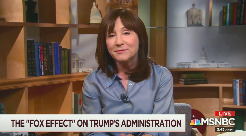 """On MSNBC, The New Yorker's Jane Mayer describes the """"incredibly close"""" relationship between the White House and Fox News"""