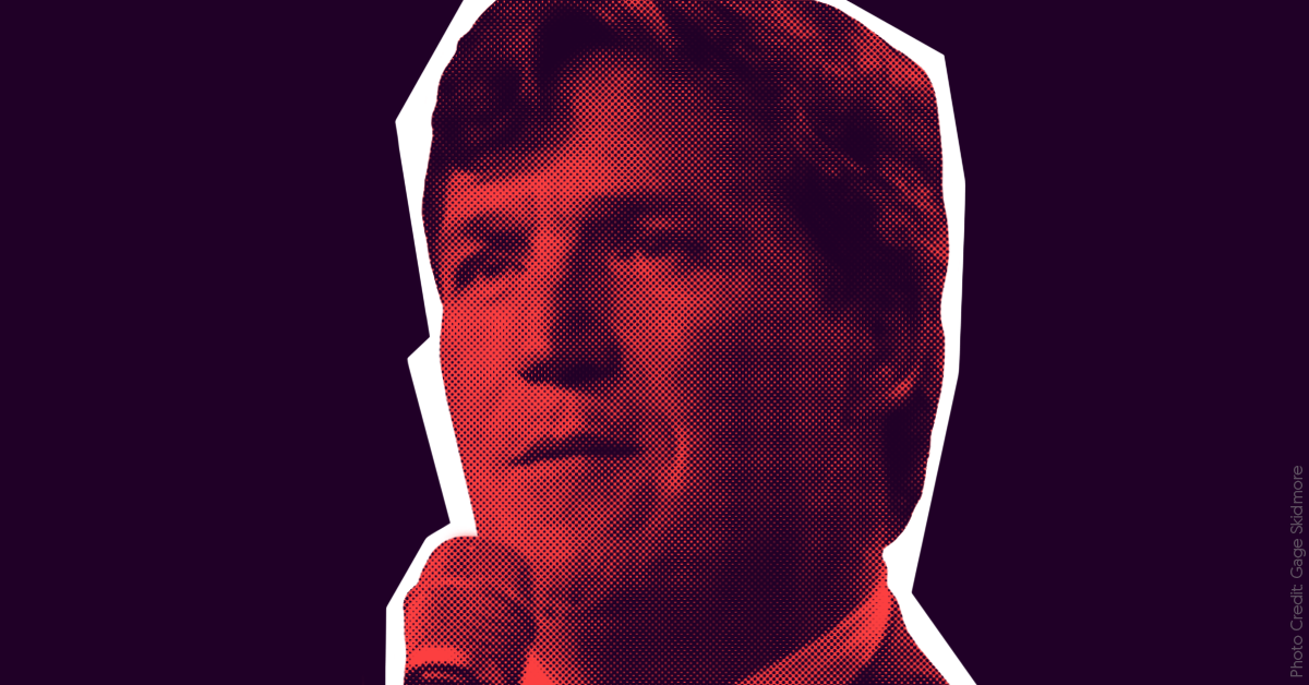 Leaked chat messages show members of white supremacist group Identity Evropa are obsessed with Tucker Carlson