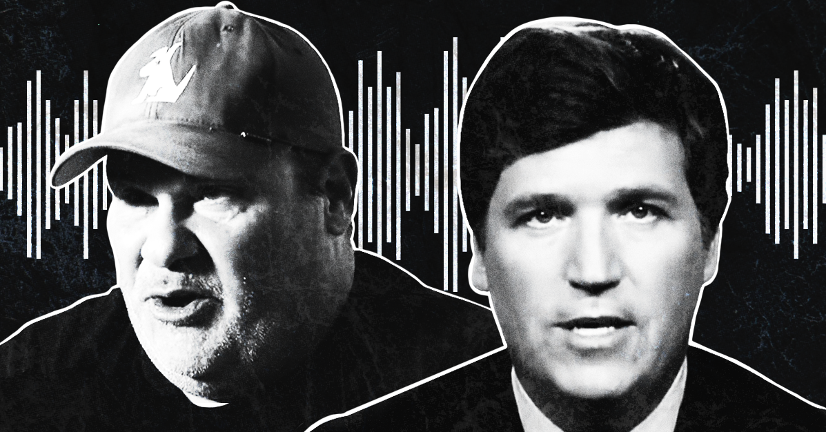 In unearthed audio, Tucker Carlson makes numerous