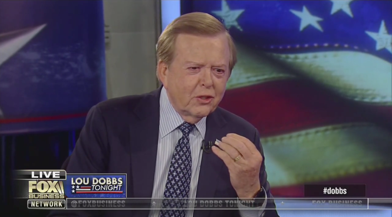 Image result for lou dobbs national emergency