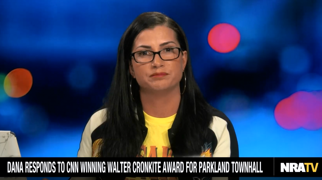 After CNN wins award for its post-Parkland town hall, NRA's Dana Loesch claims she was publicly lynched at the event