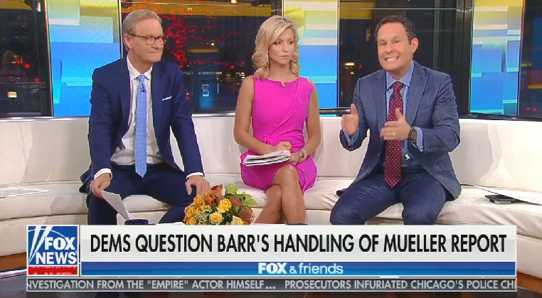 Fox's Kilmeade suggests there's no need to release Mueller report because of previous reporting on Trump officials' wrongdoings