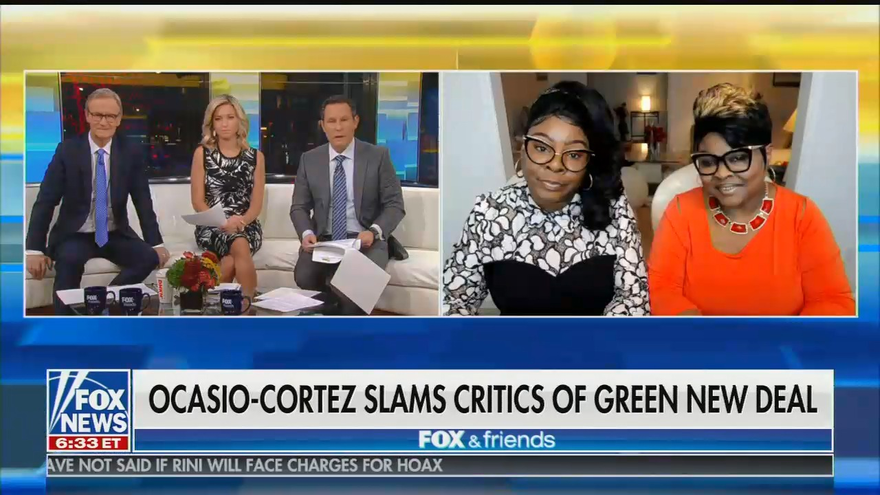 """Fox's Diamond and Silk: """"With the Earth rotating at 1,000 miles per hour, OK, 365 days of the year, we subject to feel climate changing a little bit"""""""