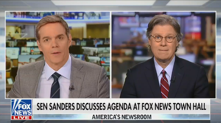Fox anchor Bill Hemmer misinformed viewers about Bernie Sanders' tax proposals