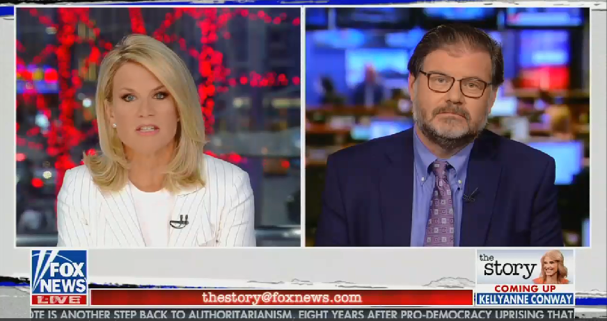 "Fox ""real news"" host Martha MacCallum fearmongers about ""other religions who would also like to see these churches gone"" while reporting on Notre Dame"