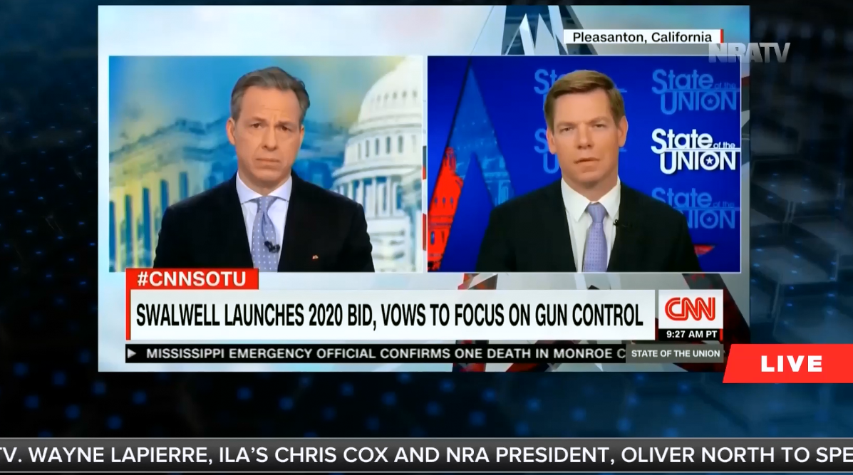 """NRATV host: Assault weapons bans are about """"jailing your political foes"""""""