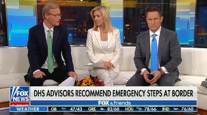 Fox & Friends cheers Trump's decision to jail asylum seekers: