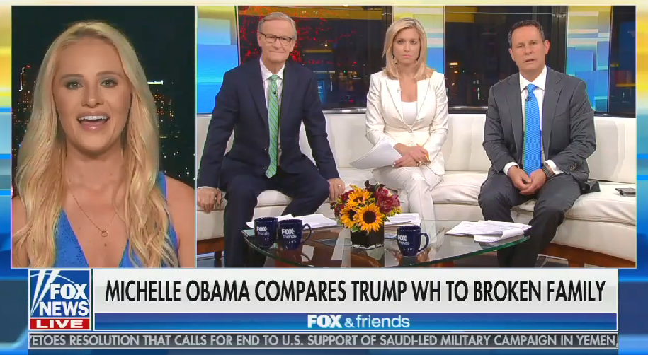 "Fox's Tomi Lahren calls Michelle Obama ""tasteless"""