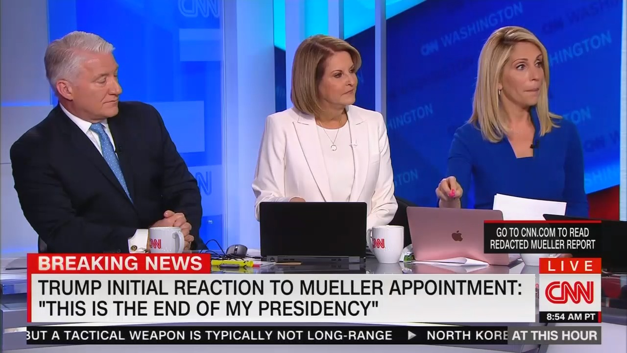 "​CNN's Dana Bash: Redacted Mueller report proves ""there was collusion"" between Trump campaign and Russia​"