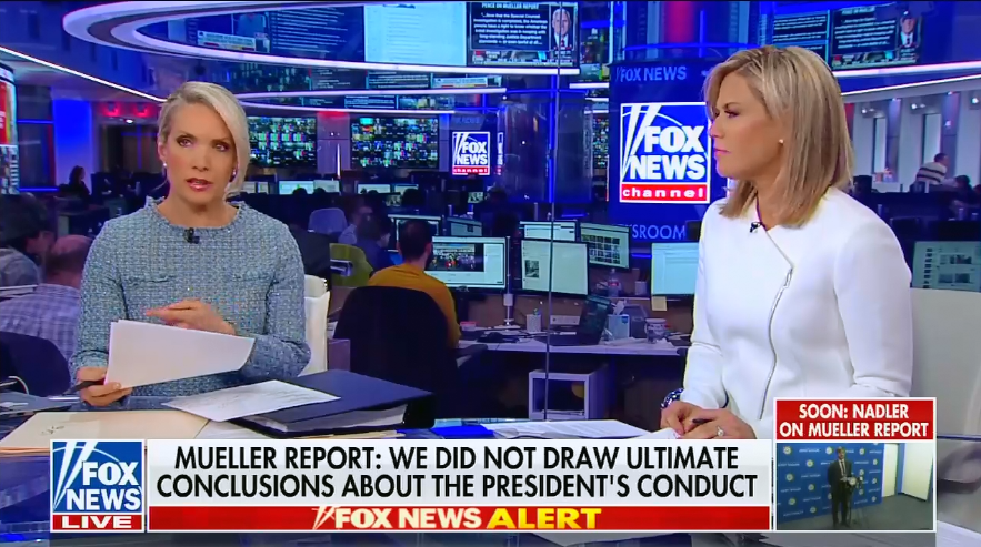 "Fox's Dana Perino: President Trump ""was actually quite cooperative"" with the special counsel investigation"