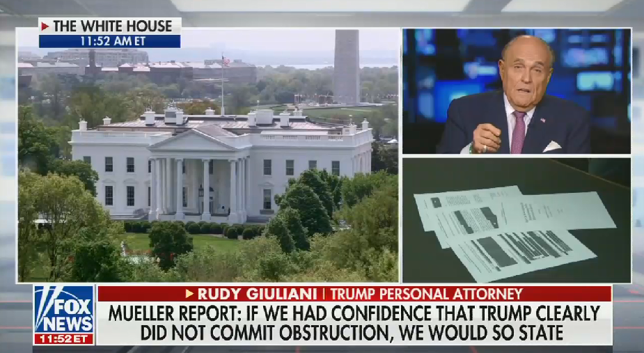 Fox anchors allow Giuliani to spout conspiracy theories about the Trump Tower meeting and the origins of the investigation