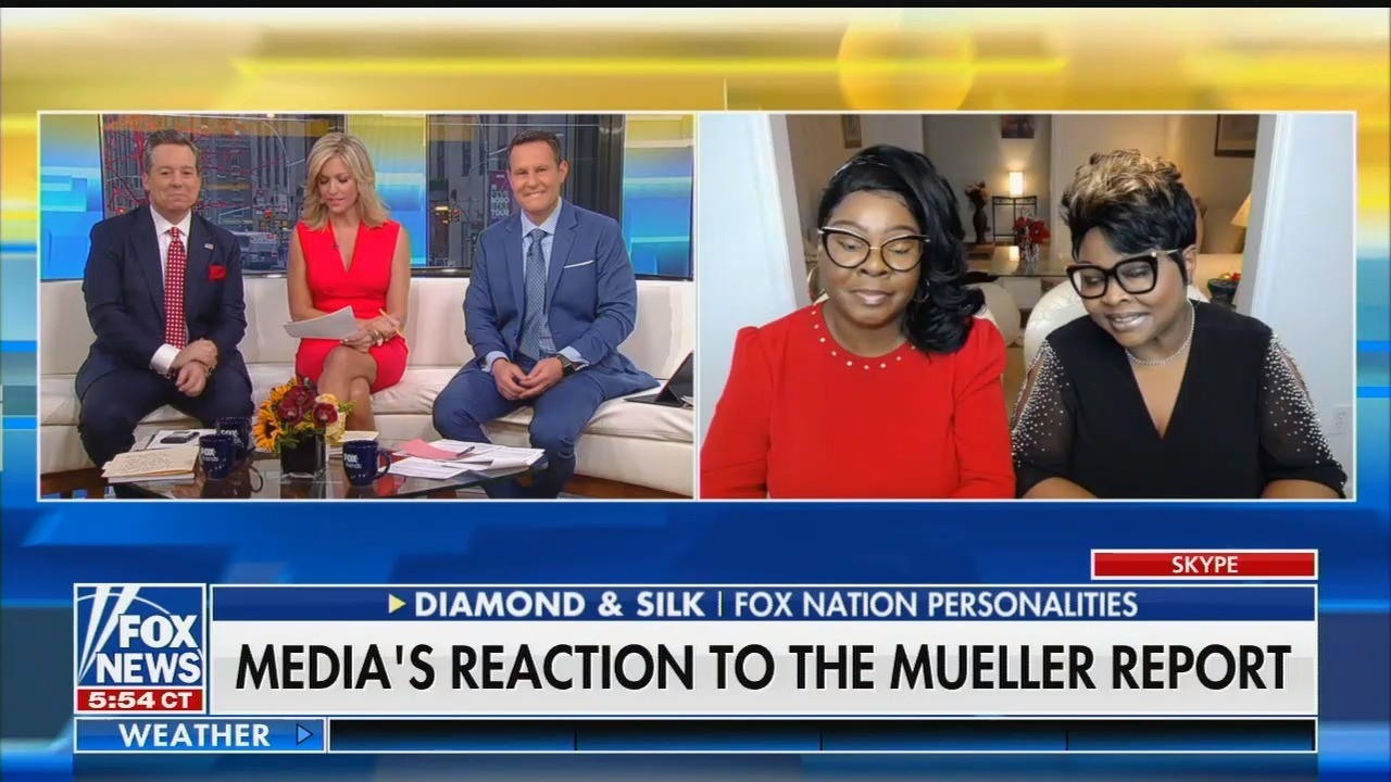 photo image Diamond and Silk on Mueller report: