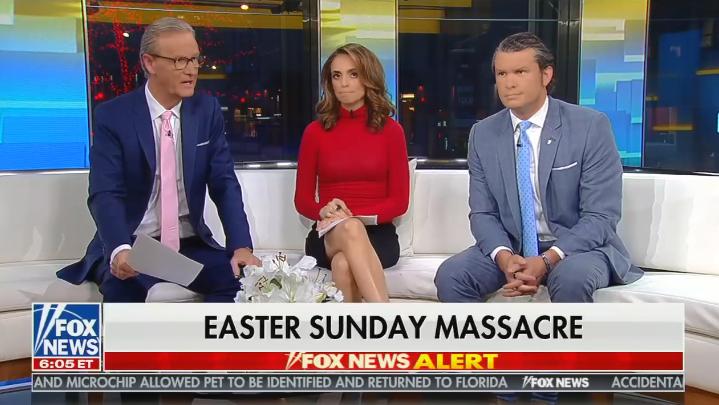Fox & Friends fearmongers about holy war following Sri Lanka attacks