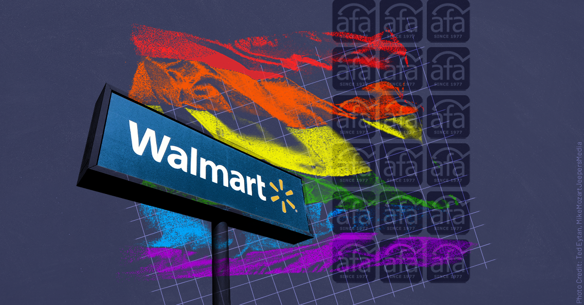 """Extreme anti-LGBTQ group American Family Association says it met with """"senior"""" Walmart executives to discuss ad with gay couple"""