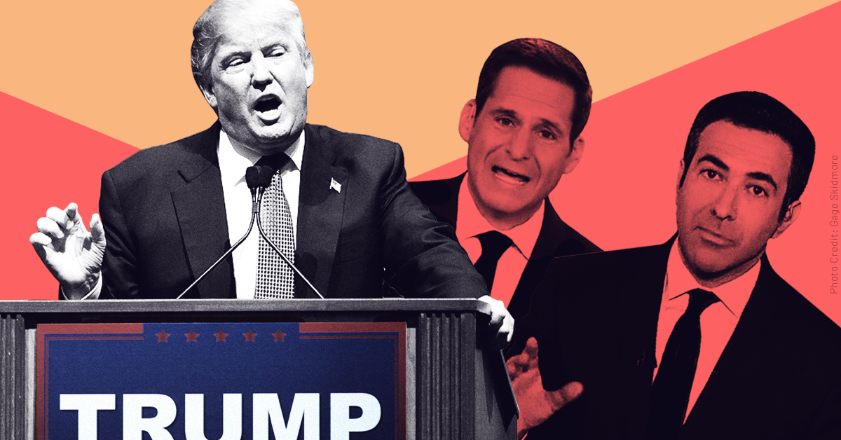CNN and MSNBC downplay a call at Trump's rally to shoot migrants, likening it to HBO's Veep