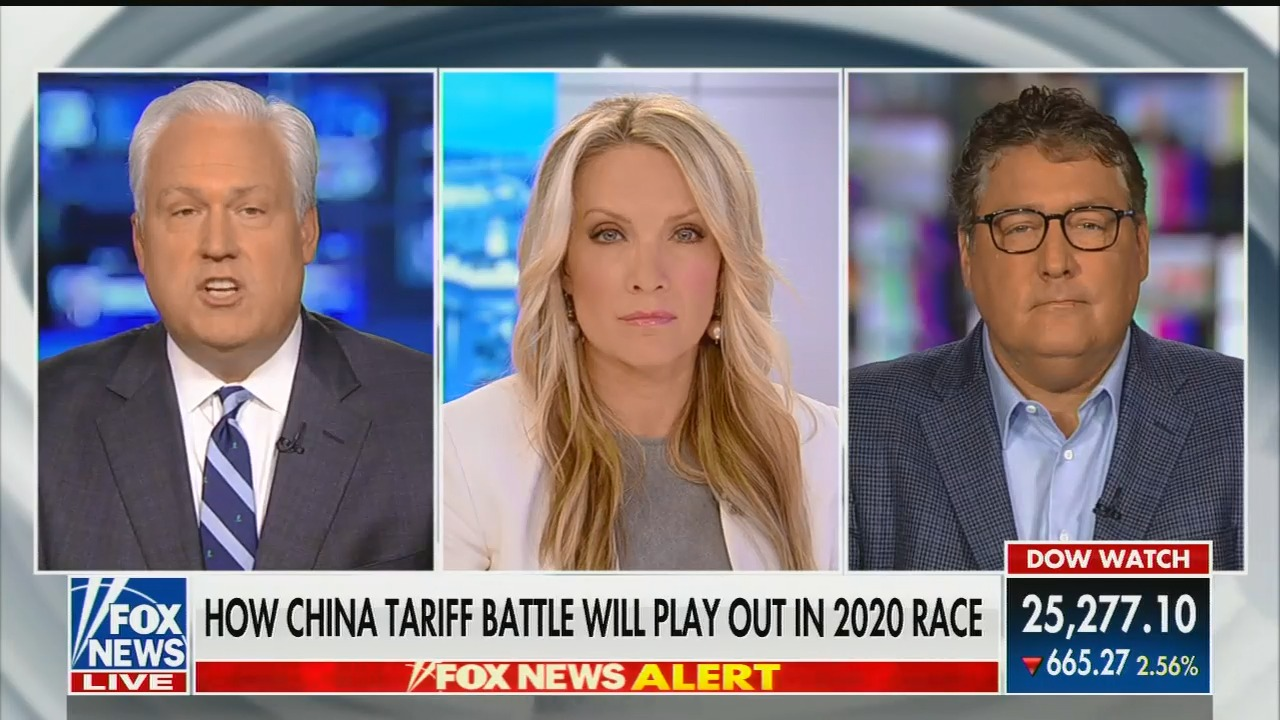 "On a Fox straight ""news"" show, Matt Schlapp says Fox anchor Chris Wallace ""is wrong"" that U.S. consumers will pay the cost of Trump's tariffs"