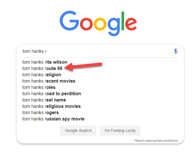 A QAnon-linked conspiracy theory about Tom Hanks reached Twitter's and Google's search suggestions
