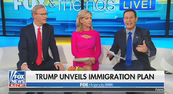 "Brian Kilmeade: The situation at the border is ""almost like"" 9/11"