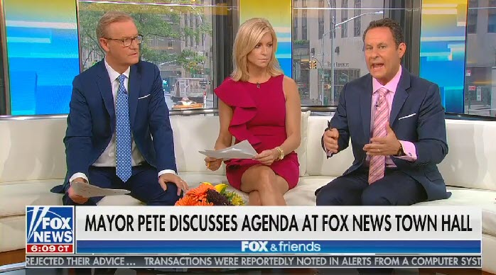 "Fox's Brian Kilmeade on Pete Buttigieg criticizing Thomas Jefferson's position on slavery: ""What about Barack Obama?"""