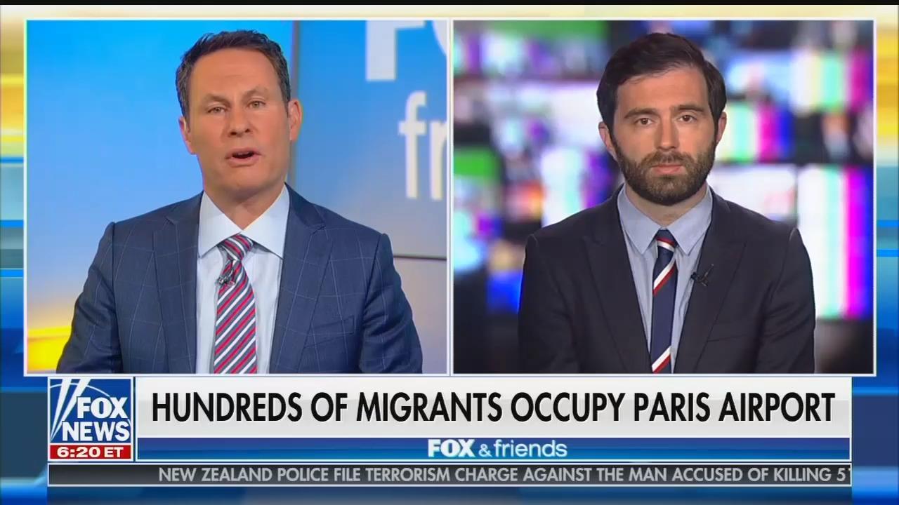 Fox's Brian Kilmeade praises Hungary's far-right leader Viktor Orban for extreme actions he's taken to stop refugees
