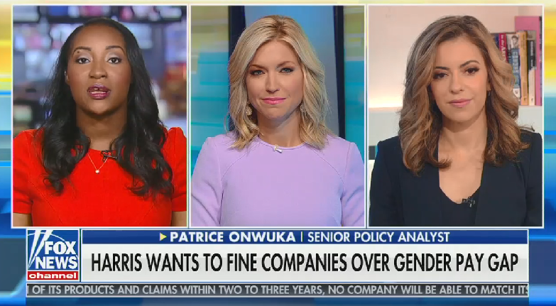"""Fox guest dismisses the gender pay gap: """"A lot of women"""" choose to make less money than men because they want """"more flexibility"""""""
