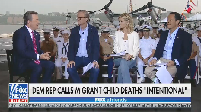 """Fox's Ed Henry on deaths in DHS custody: """"Frankly, American lives are at risk as well on this side of the border"""""""