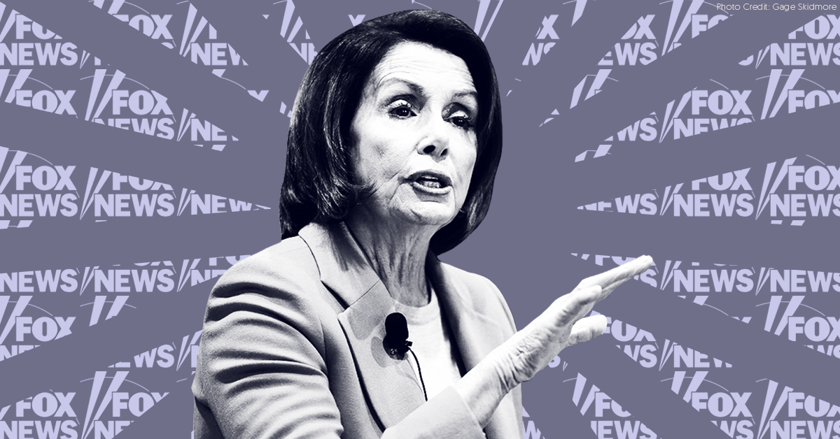 Pro-Trump media -- including Fox News -- are using deceptively edited videos in a smear campaign against Speaker Pelosi
