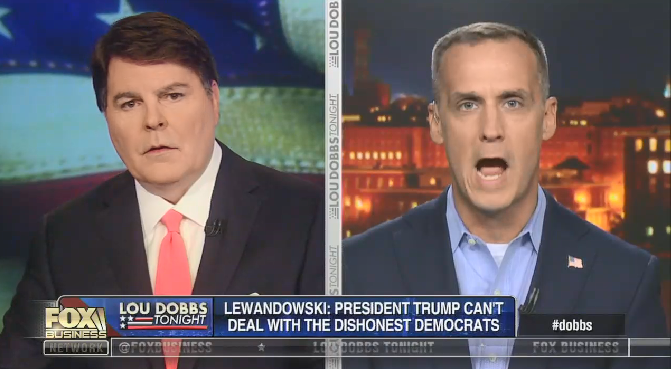 """On Fox Business, Corey Lewandowski claims """"in March or April of next year, James Comey, Andy McCabe, Strzok and Paige will be on trial for the crimes they committed"""""""