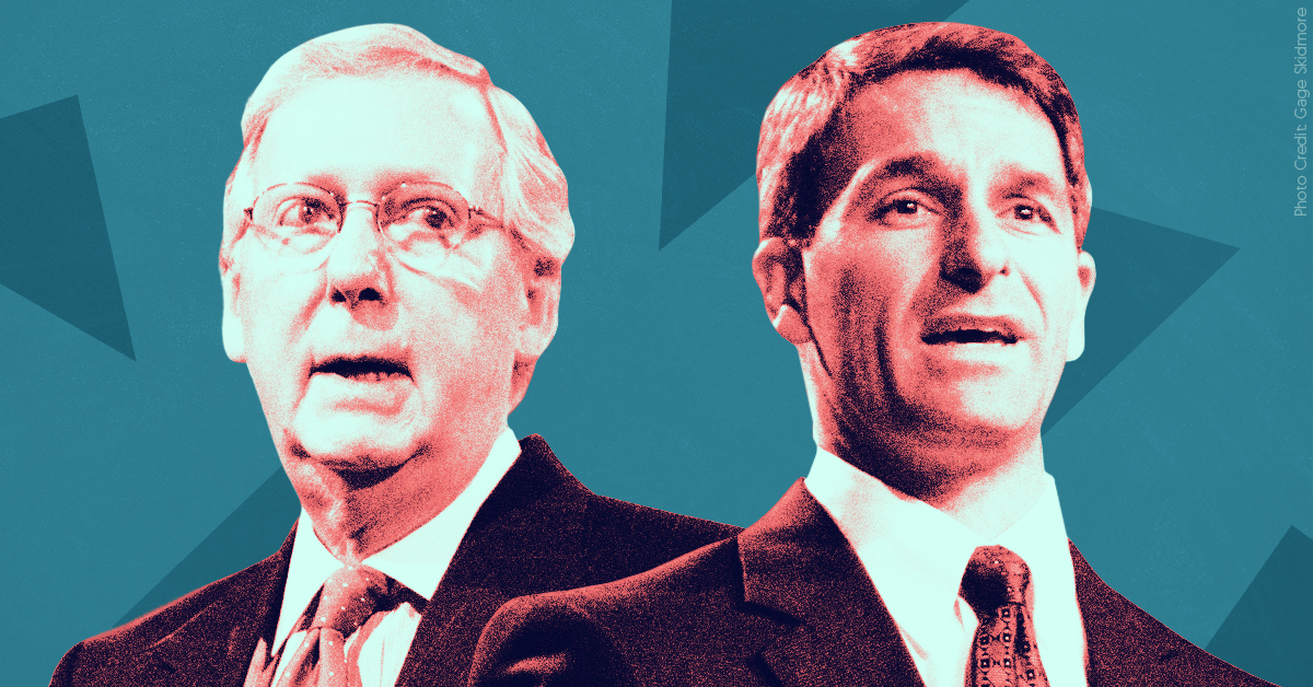 "Ken Cuccinelli called Mitch McConnell a backstabber, liar, and ""the head alligator."" Cuccinelli may need his help for a DHS job."