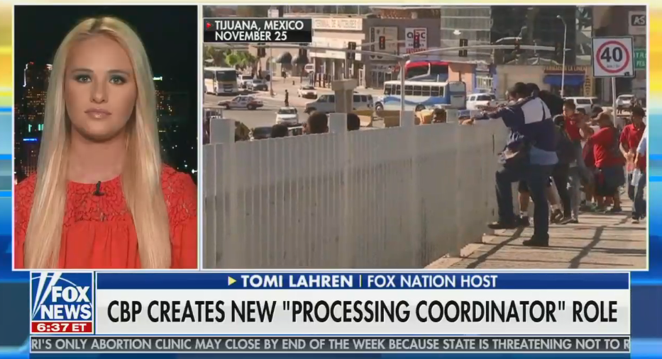 "Fox's Tomi Lahren expresses outrage about new Border Patrol job: ""The fact that they had to create a new position to essentially baby-sit illegals is mind-boggling"""