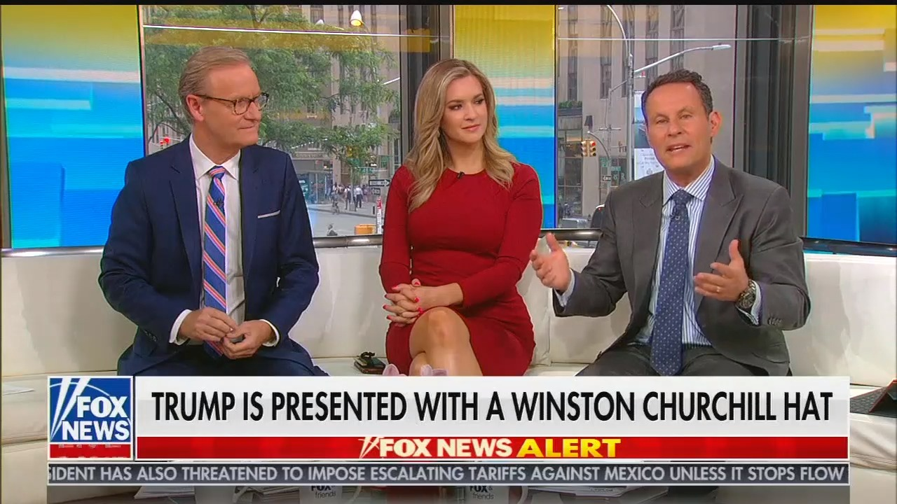 Fox's Brian Kilmeade praises Piers Morgan for asking Trump what his mother would think of him meeting Queen Elizabeth II