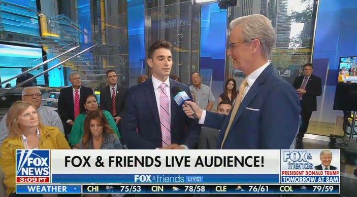 Fox & Friends live audience parrots Fox's talking points
