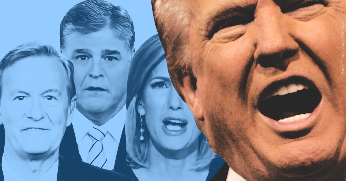 How pro-Trump media spun Trump saying he'd accept dirt from foreign governments in the 2020 election