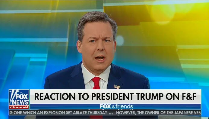 "Fox's Ed Henry falsely claims Trump ""made it clear"" that he'd report foreign interference in the 2020 election to the FBI"