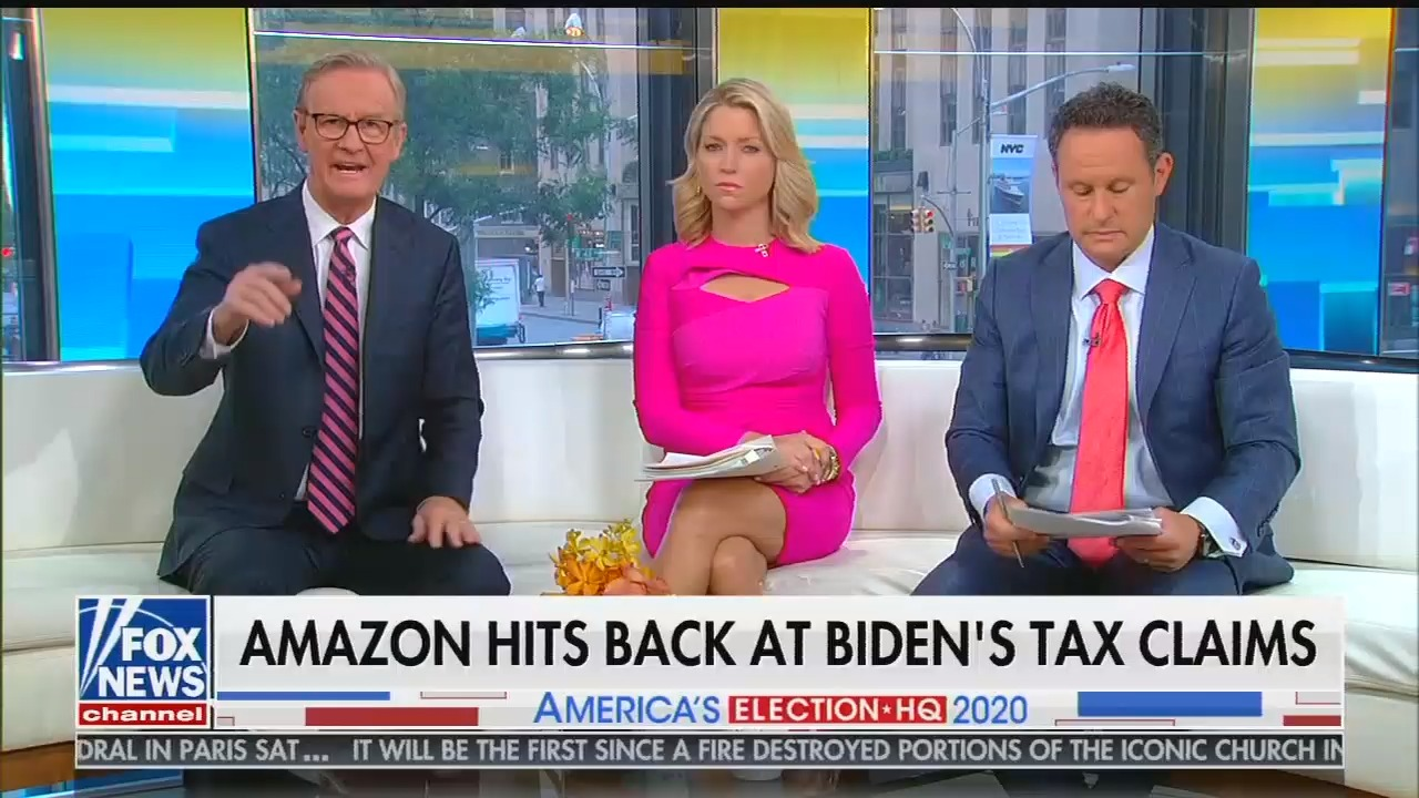 "Fox's Ainsley Earhardt defends giant corporations paying no taxes: ""So what?"""