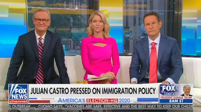 Right on cue, Fox & Friends attacks Julián Castro following his Fox News town hall