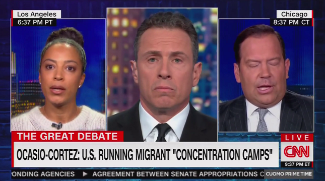 CNN's Angela Rye calls out the racism driving the conservative defense of concentration camps at the southern border