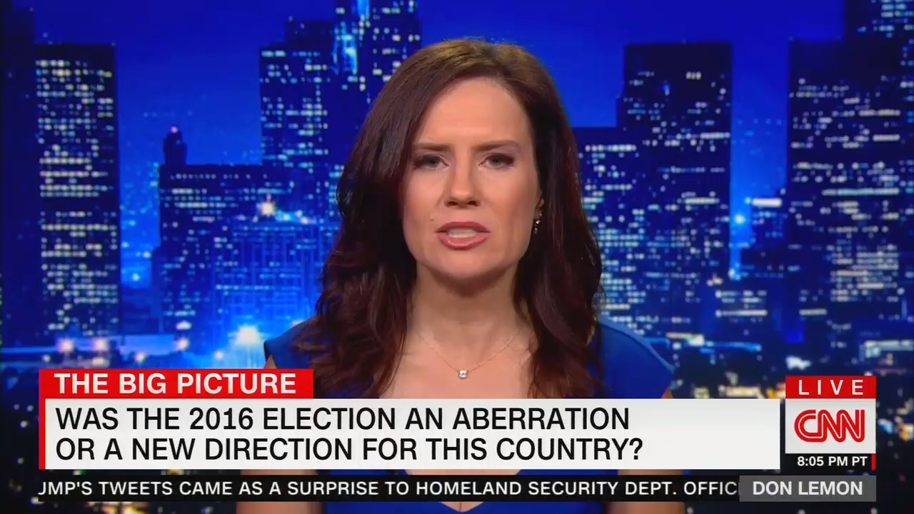 """CNN political reporter: None of the Democrats have """"that kind of rock star quality that you see with Donald Trump"""""""