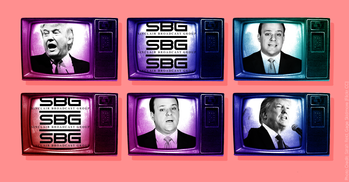 Sinclair is forcing its stations to run a commentary segment that's essentially a Trump campaign ad