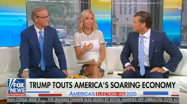 """Fox host: """"Thank God we live in the kind of country"""" where you can work multiple jobs"""