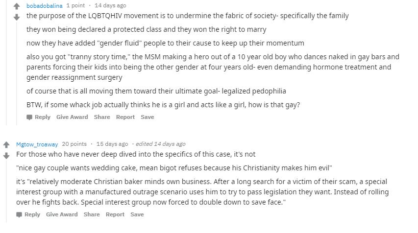 A pro-Trump subreddit went full-blown anti-LGBTQ during
