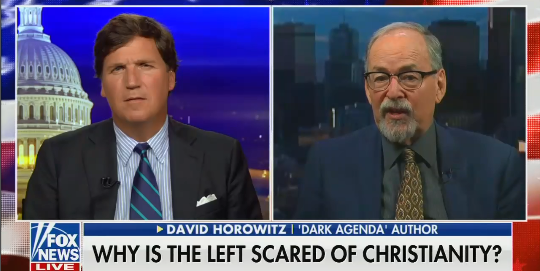"Tucker Carlson guest: ""The creation of America was probably the greatest gift given to black people in 3,000 years"""