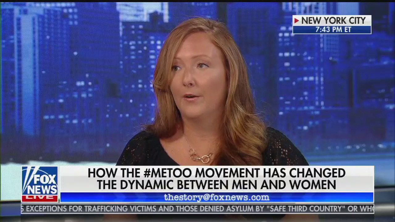 "Fox News guest blames men ""terrified"" of #MeToo for male managers not mentoring female colleagues"