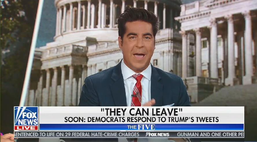Fox host: Trump's tweets weren't racist -- they were